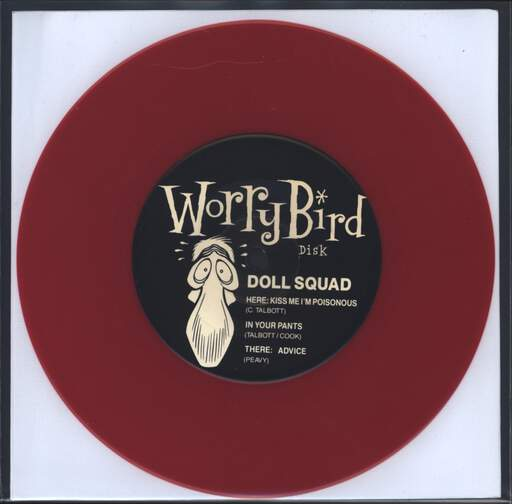 "Doll Squad: Kiss Me I'm Poisonous, 7"" Single (Vinyl)"