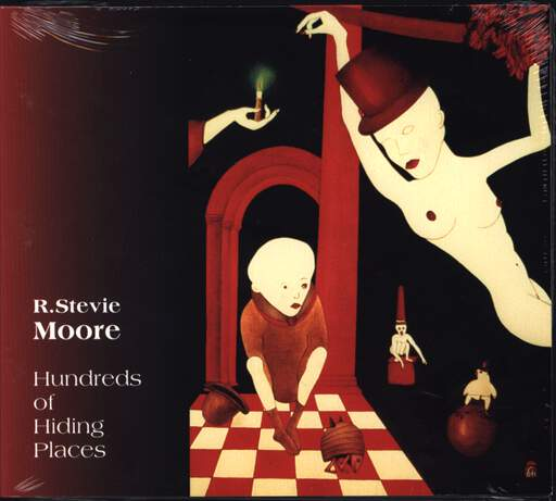 R. Stevie Moore: Hundreds Of Hiding Places, CD