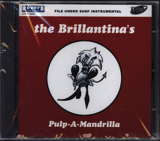 The Brillantina's: Pulp-a-mandrilla, CD