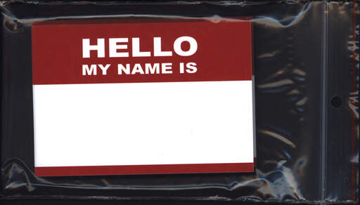 Sticker: Hello My Name Is (50 Stück), Other