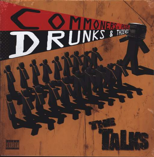 The Talks: Commoners, Peers, Drunks & Thieves, LP (Vinyl)