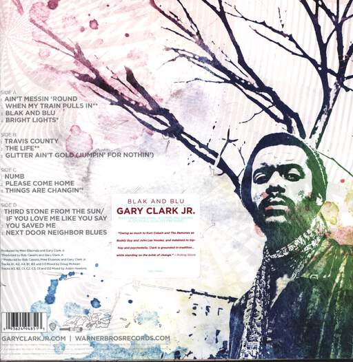 Gary Clark Jr.: Blak And Blu, LP (Vinyl)