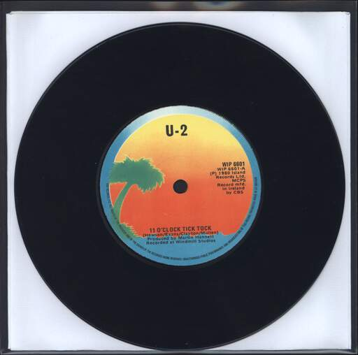 "U2: 11 O'Clock Tick Tock, 7"" Single (Vinyl)"