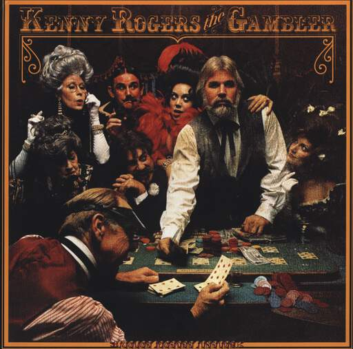 Kenny Rogers: The Gambler, LP (Vinyl)