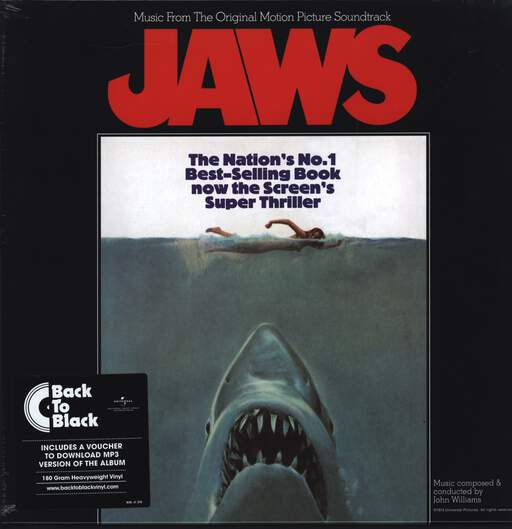 John Williams: Jaws (Music From The Original Motion Picture Soundtrack), LP (Vinyl)