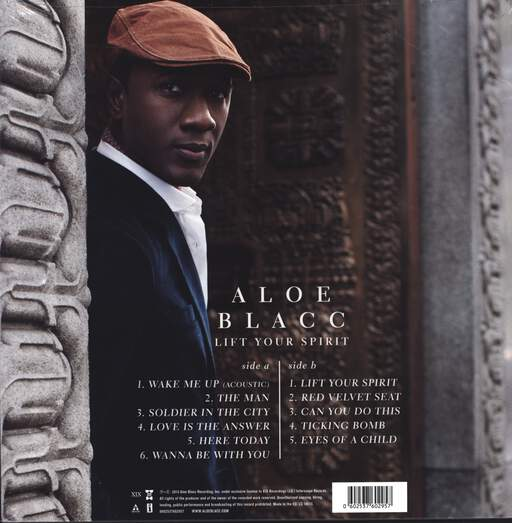 Aloe Blacc: Lift Your Spirit, LP (Vinyl)