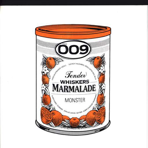 "Les Tender Whiskers: Marmalade Monster, 7"" Single (Vinyl)"