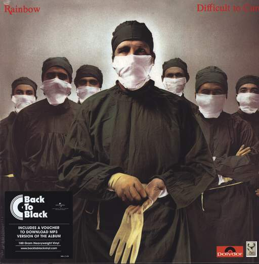 Rainbow: Difficult To Cure, LP (Vinyl)