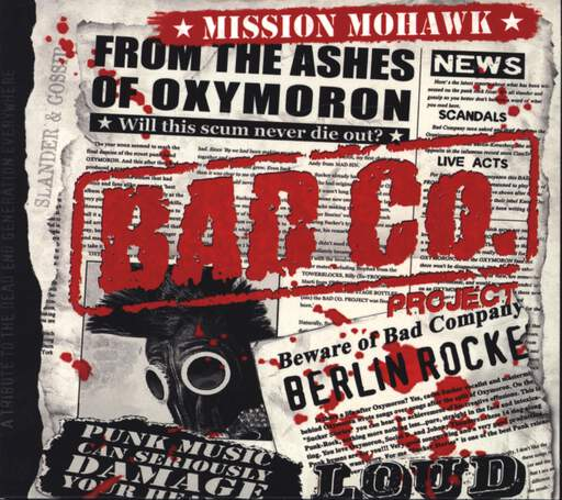Bad Co. Project: Mission Mohawk, CD