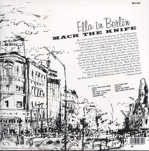 Ella Fitzgerald: Mack The Knife - Ella In Berlin, LP (Vinyl)