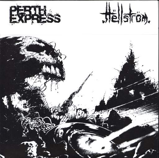"Perth Express: Perth Express / Hëllström, 7"" Single (Vinyl)"