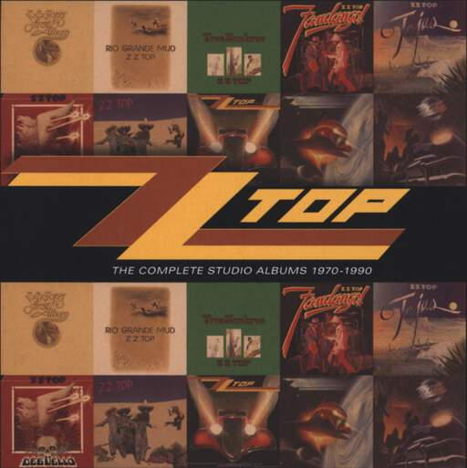 ZZ Top: The Complete Studio Albums 1970-1990, CD