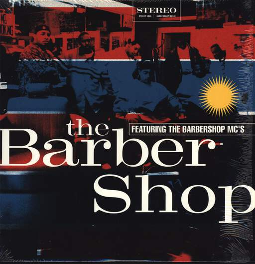 "Barbershop MC's: The Barber Shop, 12"" Maxi Single (Vinyl)"