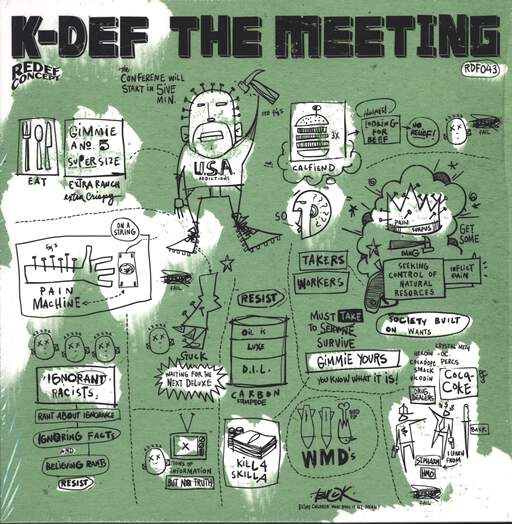 "K-Def: The Meeting, 12"" Maxi Single (Vinyl)"