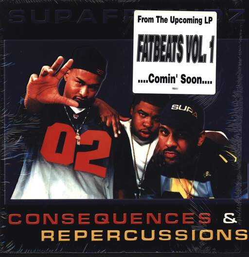 "Supafriendz: Consequences & Repercussions, 12"" Maxi Single (Vinyl)"