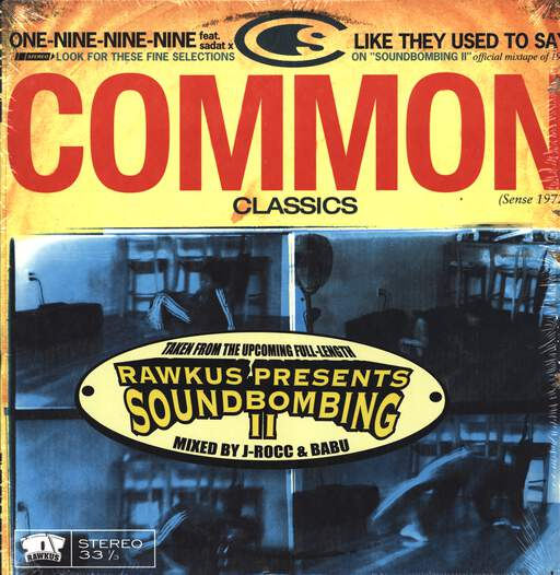 "Common: One-Nine-Nine-Nine / Like They Used To Say, 12"" Maxi Single (Vinyl)"
