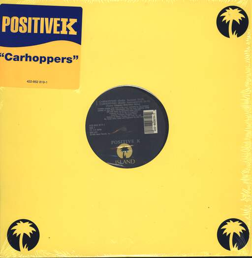 "Positive K: Carhoppers, 12"" Maxi Single (Vinyl)"