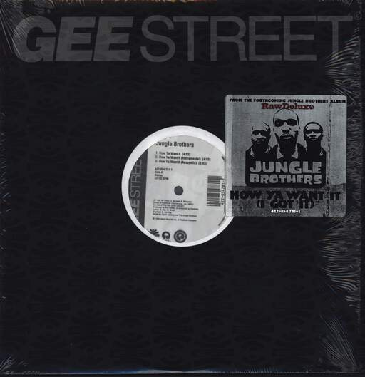 "Jungle Brothers: How Ya Want It, 12"" Maxi Single (Vinyl)"