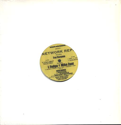 "Network Reps: Collabo (Whatcha Really!) / Simplistic, 12"" Maxi Single (Vinyl)"