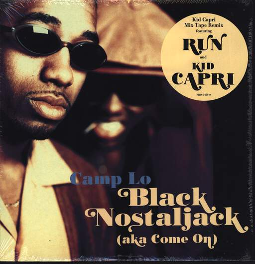 "Camp Lo: Black Nostaljack (Aka Come On), 12"" Maxi Single (Vinyl)"