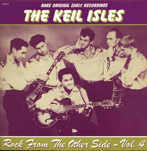 The Keil Isles: Rock From The Other Side - Vol. 4 - The Keil Isles, LP (Vinyl)
