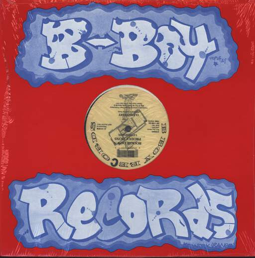 "Boogie Down Productions: Poetry / Elementary, 12"" Maxi Single (Vinyl)"