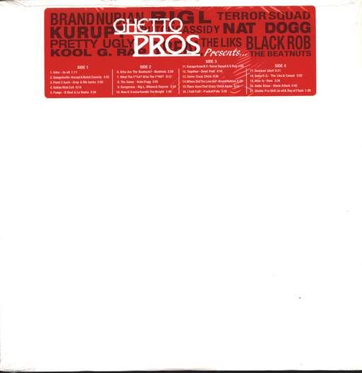 Various: Ghetto Pros Presents..., LP (Vinyl)