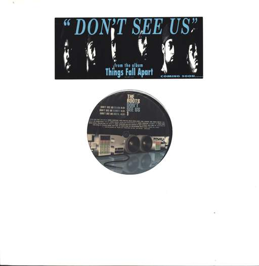"The Roots: Don't See Us, 12"" Maxi Single (Vinyl)"