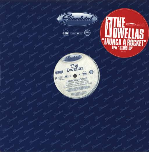 "Cella Dwellas: Launch A Rocket / Stand Up, 12"" Maxi Single (Vinyl)"