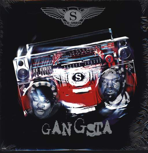 "S.A. Smash: Gangsta, 12"" Maxi Single (Vinyl)"
