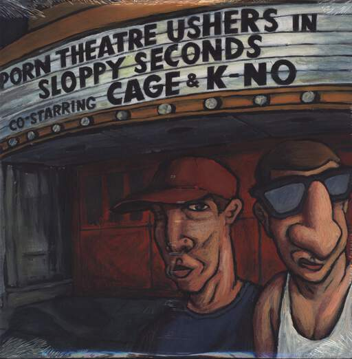 "Porn Theatre Ushers: Sloppy Seconds, 12"" Maxi Single (Vinyl)"