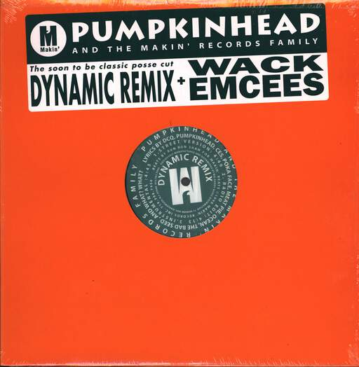 "Pumpkinhead: Dynamic (Remix) / Wack Emcees, 12"" Maxi Single (Vinyl)"