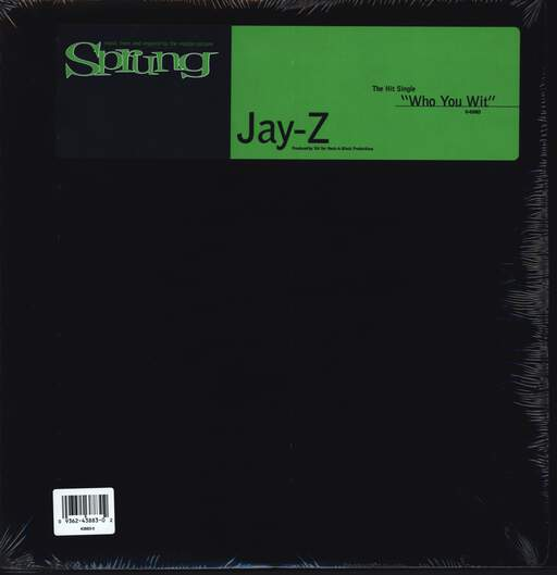 "Jay-Z: Who You Wit, 12"" Maxi Single (Vinyl)"