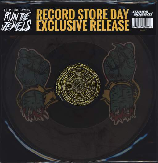 "Run The Jewels: Bust No Moves, 12"" Maxi Single (Vinyl)"