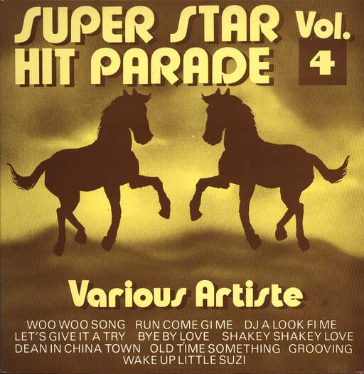 Various: Super Stars Hit Parade Vol. 4, LP (Vinyl)