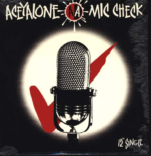 "Aceyalone: Mic Check / Headaches & Woes / Feet Upon Da Table, 12"" Maxi Single (Vinyl)"