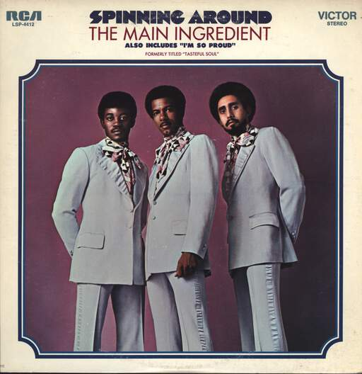 The Main Ingredient: Spinning Around, LP (Vinyl)