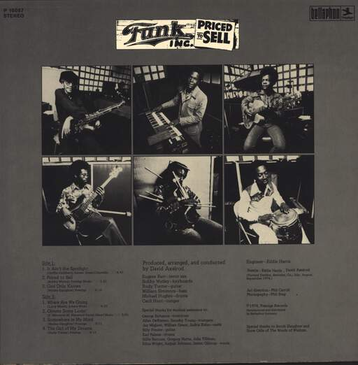 Funk Inc.: Priced To Sell, LP (Vinyl)