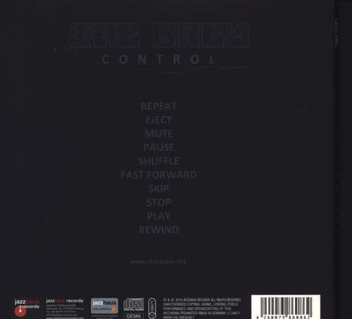The Brew: Control, CD