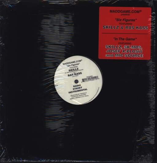 "Skillz: Six Figures, 12"" Maxi Single (Vinyl)"