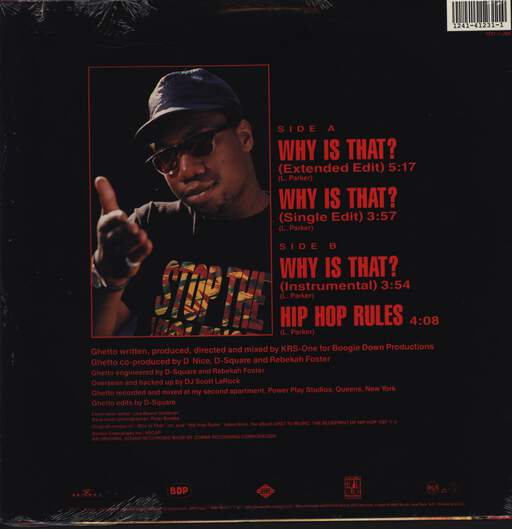 "Boogie Down Productions: Why Is That?, 12"" Maxi Single (Vinyl)"