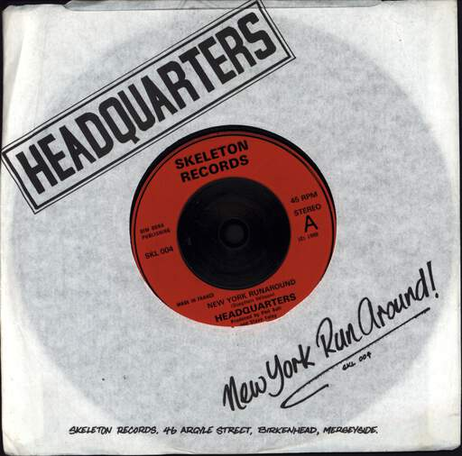 "Headquarters: New York Runaround, 7"" Single (Vinyl)"