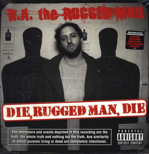 R.A. THE RUGGED MAN   Die, Rugged Man, Die   LP X 2