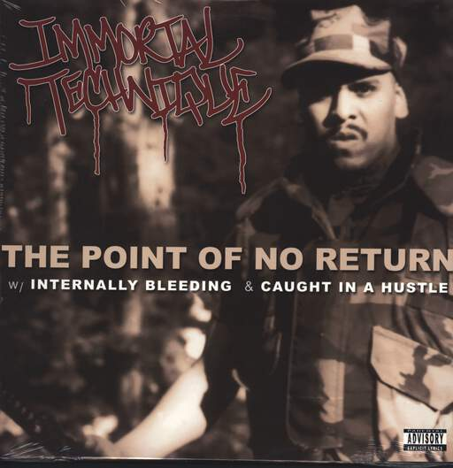 "Immortal Technique: The Point Of No Return / Internally Bleeding / Caught In A Hustle, 12"" Maxi Single (Vinyl)"
