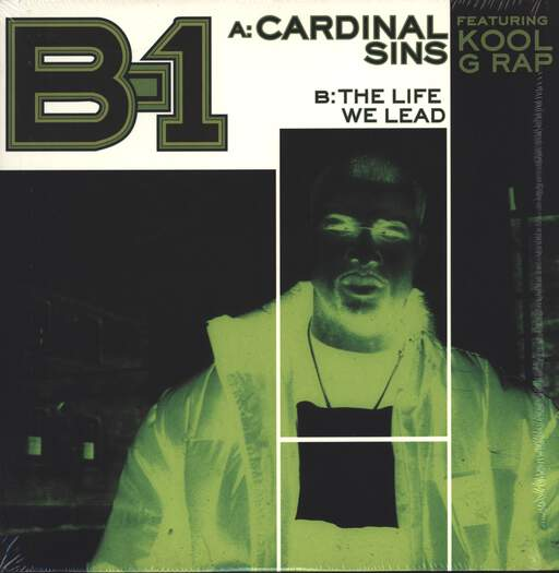 "B-1: Cardinal Sins / The Life We Lead, 12"" Maxi Single (Vinyl)"