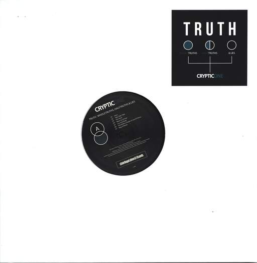 Cryptic One: Truth: Whole Truth, Half Truths & Lies, LP (Vinyl)