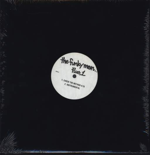 "Lord Finesse: Check The Method / Do Your Thing, 12"" Maxi Single (Vinyl)"