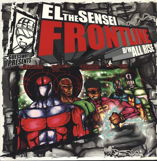 "El Da Sensei: Frontline / All Rise, 12"" Maxi Single (Vinyl)"