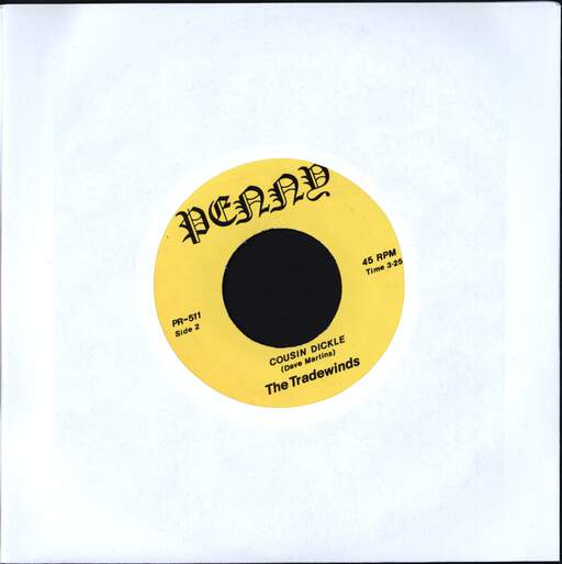 "Tradewinds: Wong Ping / Cousin Dickle, 7"" Single (Vinyl)"