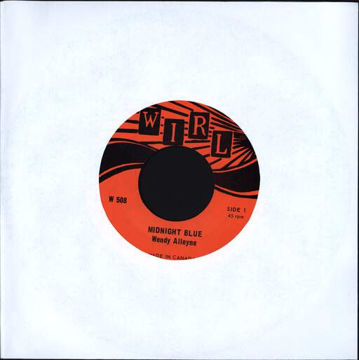 "Wendy Alleyne: Midnight Blue, 7"" Single (Vinyl)"